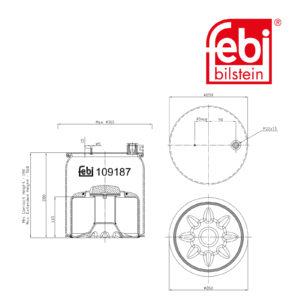 LPM Truck Parts - AIR SPRING (9603207557)