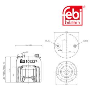 LPM Truck Parts - AIR SPRING (9603201357)