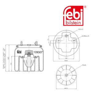 LPM Truck Parts - AIR SPRING (0542943860)
