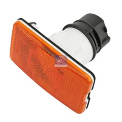 LPM Truck Parts - SIDE MARKING LAMP, ORANGE WITH BULB (1304788 - 1365972)