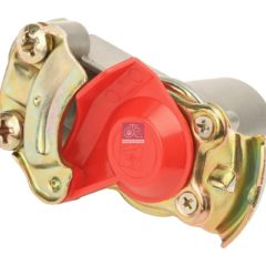 LPM Truck Parts - PALM COUPLING, RED LID WITH PIPE FILTER (1518207 - 10896059)